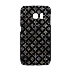 Circles3 Black Marble & Gray Stone (r) Galaxy S6 Edge by trendistuff