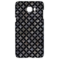 Circles3 Black Marble & Gray Stone (r) Samsung C9 Pro Hardshell Case  by trendistuff