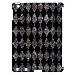 Diamond1 Black Marble & Gray Stone Apple Ipad 3/4 Hardshell Case (compatible With Smart Cover) by trendistuff