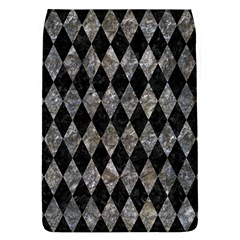 Diamond1 Black Marble & Gray Stone Flap Covers (l)  by trendistuff
