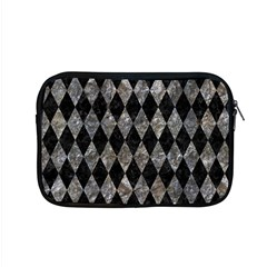 Diamond1 Black Marble & Gray Stone Apple Macbook Pro 15  Zipper Case by trendistuff