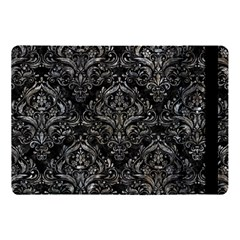 Damask1 Black Marble & Gray Stone Apple Ipad Pro 10 5   Flip Case by trendistuff