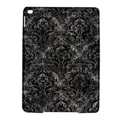 Damask1 Black Marble & Gray Stone (r) Ipad Air 2 Hardshell Cases by trendistuff