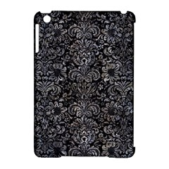Damask2 Black Marble & Gray Stone Apple Ipad Mini Hardshell Case (compatible With Smart Cover) by trendistuff