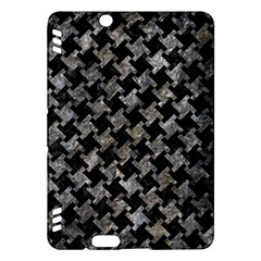 Houndstooth2 Black Marble & Gray Stone Kindle Fire Hdx Hardshell Case by trendistuff