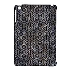 Hexagon1 Black Marble & Gray Stone (r) Apple Ipad Mini Hardshell Case (compatible With Smart Cover) by trendistuff