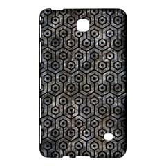 Hexagon1 Black Marble & Gray Stone (r) Samsung Galaxy Tab 4 (7 ) Hardshell Case  by trendistuff