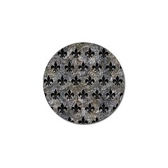 Royal1 Black Marble & Gray Stone Golf Ball Marker (10 Pack) by trendistuff