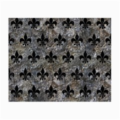 Royal1 Black Marble & Gray Stone Small Glasses Cloth by trendistuff