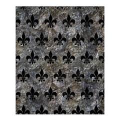 Royal1 Black Marble & Gray Stone Shower Curtain 60  X 72  (medium)  by trendistuff