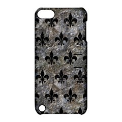 Royal1 Black Marble & Gray Stone Apple Ipod Touch 5 Hardshell Case With Stand by trendistuff