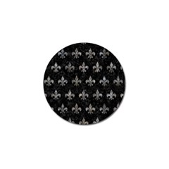 Royal1 Black Marble & Gray Stone (r) Golf Ball Marker (10 Pack) by trendistuff