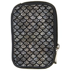 Scales1 Black Marble & Gray Stone (r) Compact Camera Cases by trendistuff