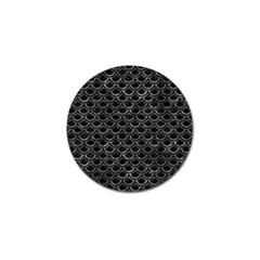 Scales2 Black Marble & Gray Stone Golf Ball Marker (10 Pack) by trendistuff