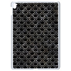 Scales2 Black Marble & Gray Stone Apple Ipad Pro 9 7   White Seamless Case by trendistuff
