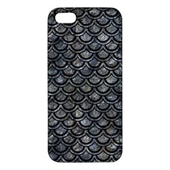 Scales2 Black Marble & Gray Stone (r) Apple Iphone 5 Premium Hardshell Case by trendistuff