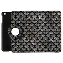 Scales3 Black Marble & Gray Stone (r) Apple Ipad Mini Flip 360 Case by trendistuff