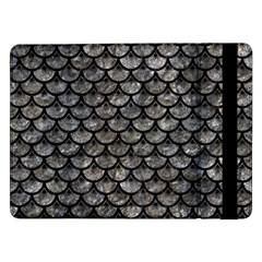 Scales3 Black Marble & Gray Stone (r) Samsung Galaxy Tab Pro 12 2  Flip Case by trendistuff
