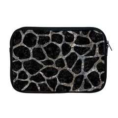 Skin1 Black Marble & Gray Stone (r) Apple Macbook Pro 17  Zipper Case by trendistuff