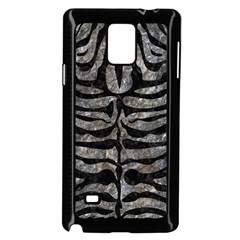 Skin2 Black Marble & Gray Stone (r) Samsung Galaxy Note 4 Case (black) by trendistuff