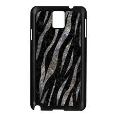 Skin3 Black Marble & Gray Stone Samsung Galaxy Note 3 N9005 Case (black) by trendistuff