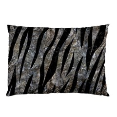 Skin3 Black Marble & Gray Stone (r) Pillow Case (two Sides) by trendistuff