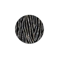 Skin4 Black Marble & Gray Stone Golf Ball Marker (10 Pack) by trendistuff