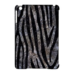 Skin4 Black Marble & Gray Stone Apple Ipad Mini Hardshell Case (compatible With Smart Cover) by trendistuff