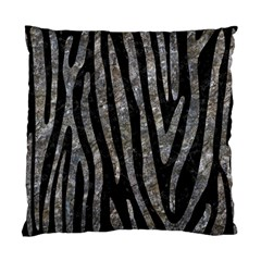 Skin4 Black Marble & Gray Stone (r) Standard Cushion Case (two Sides) by trendistuff