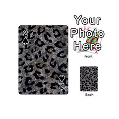 Skin5 Black Marble & Gray Stone Playing Cards 54 (mini)  by trendistuff