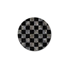 Square1 Black Marble & Gray Stone Golf Ball Marker (10 Pack) by trendistuff