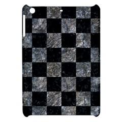Square1 Black Marble & Gray Stone Apple Ipad Mini Hardshell Case by trendistuff