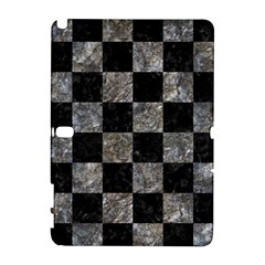Square1 Black Marble & Gray Stone Galaxy Note 1 by trendistuff