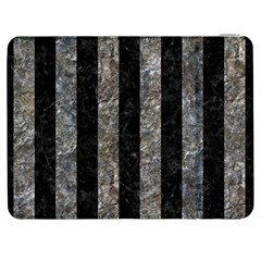 Stripes1 Black Marble & Gray Stone Samsung Galaxy Tab 7  P1000 Flip Case by trendistuff