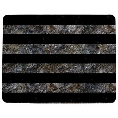 Stripes2 Black Marble & Gray Stone Jigsaw Puzzle Photo Stand (rectangular) by trendistuff