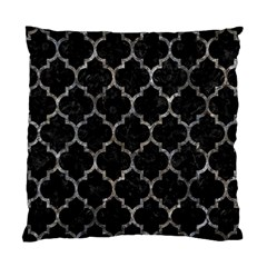 Tile1 Black Marble & Gray Stone Standard Cushion Case (two Sides) by trendistuff