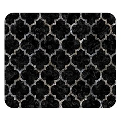 Tile1 Black Marble & Gray Stone Double Sided Flano Blanket (small)  by trendistuff