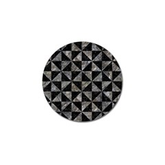 Triangle1 Black Marble & Gray Stone Golf Ball Marker (10 Pack) by trendistuff