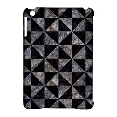 Triangle1 Black Marble & Gray Stone Apple Ipad Mini Hardshell Case (compatible With Smart Cover) by trendistuff
