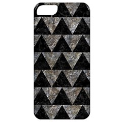Triangle2 Black Marble & Gray Stone Apple Iphone 5 Classic Hardshell Case