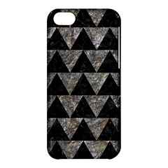 Triangle2 Black Marble & Gray Stone Apple Iphone 5c Hardshell Case by trendistuff