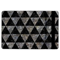 Triangle3 Black Marble & Gray Stone Ipad Air 2 Flip by trendistuff