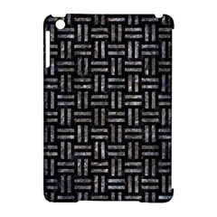 Woven1 Black Marble & Gray Stone Apple Ipad Mini Hardshell Case (compatible With Smart Cover) by trendistuff