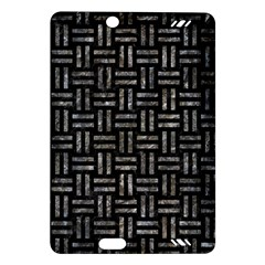 Woven1 Black Marble & Gray Stone Amazon Kindle Fire Hd (2013) Hardshell Case by trendistuff