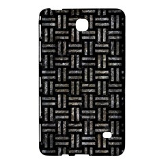 Woven1 Black Marble & Gray Stone Samsung Galaxy Tab 4 (8 ) Hardshell Case  by trendistuff