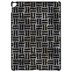 Woven1 Black Marble & Gray Stone (r) Apple Ipad Pro 12 9   Hardshell Case by trendistuff