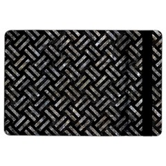 Woven2 Black Marble & Gray Stone Ipad Air 2 Flip by trendistuff