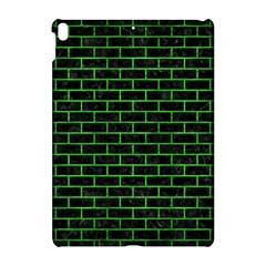 Brick1 Black Marble & Green Brushed Metal Apple Ipad Pro 10 5   Hardshell Case by trendistuff