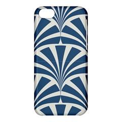 Teal,white,art Deco,pattern Apple Iphone 5c Hardshell Case by 8fugoso