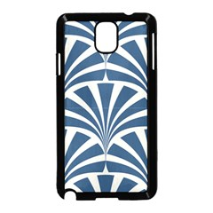 Teal,white,art Deco,pattern Samsung Galaxy Note 3 Neo Hardshell Case (black) by 8fugoso